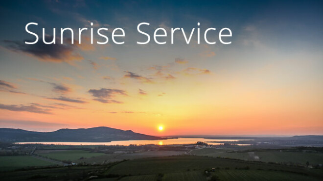 Easter Sunrise Service 6:15 a.m.